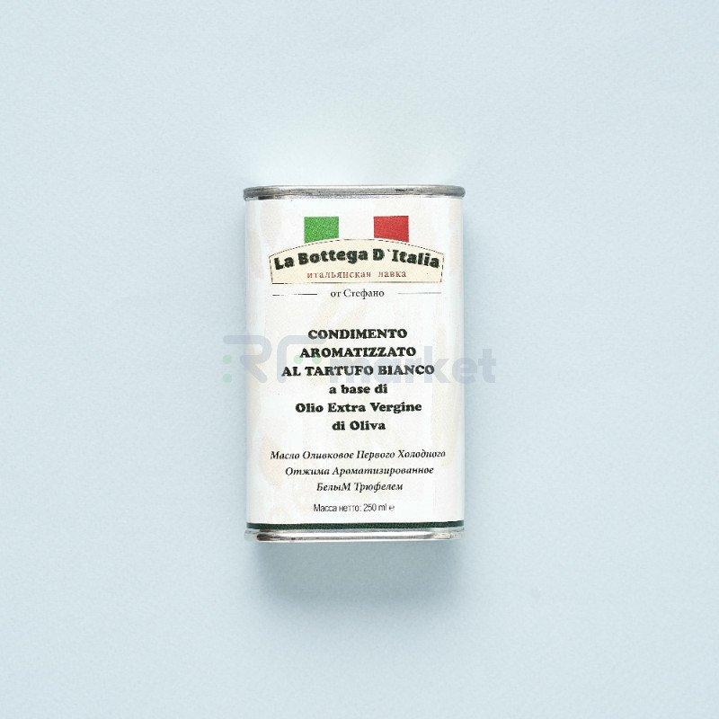 """Масло оливковое """" la Bottega d`Italia"""" с белым трюфелем (250 мл)"""