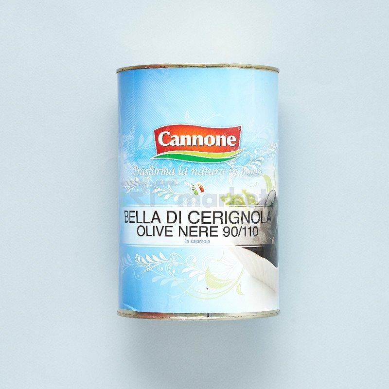 "Оливки Bella di Cerignola ""Cannone""черные гиганские  (4250 гр)"