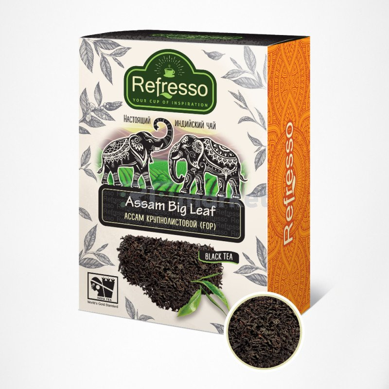 Чай Ассам крупнолистовой, 250 гр., Рефрессо/Refresso