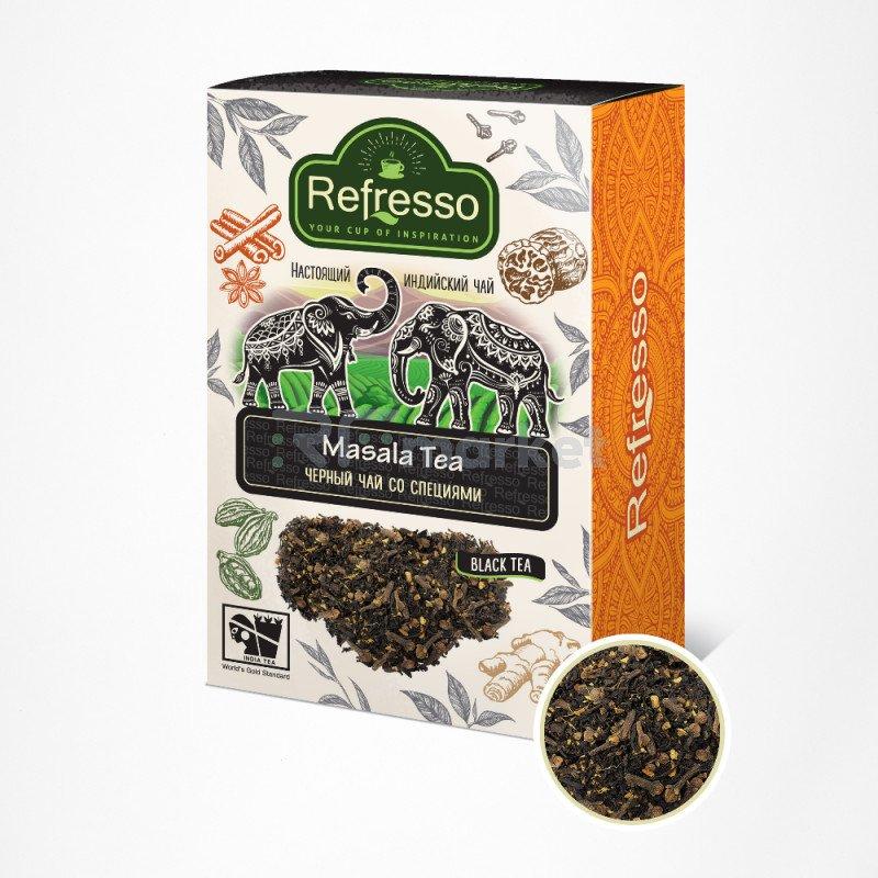 Чай масала Ассам черный с специями, 100 гр., Рефрессо/Refresso