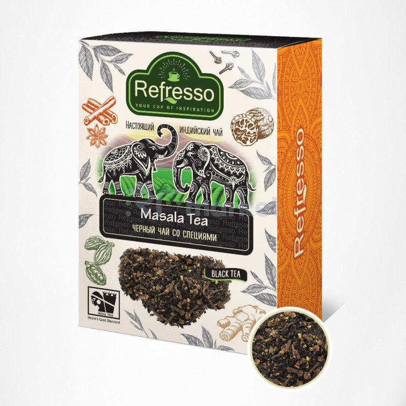 Чай масала Ассам черный с специями, 250 гр., Рефрессо/Refresso