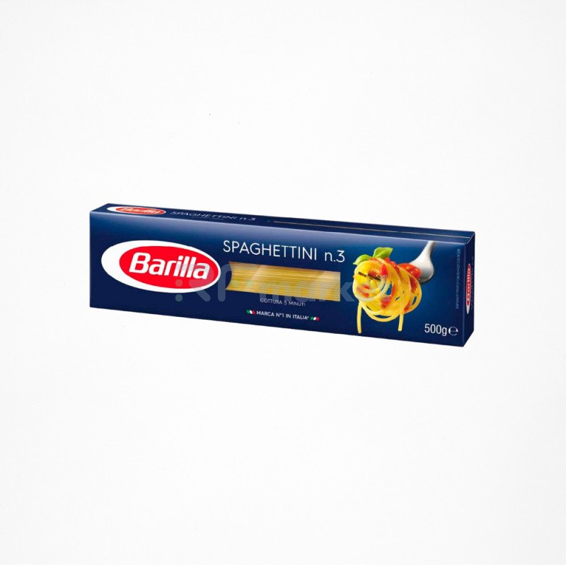 Barilla Spaghettini №3 паста спагеттини, 500 г