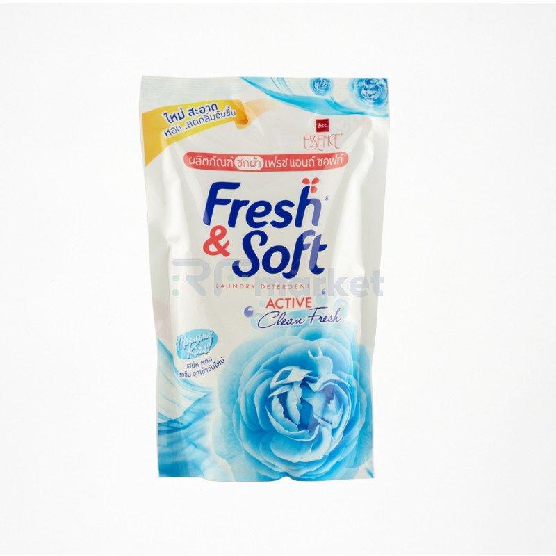 """LION Thailand Fresh&Soft Гель для стирки всех типов тканей концентрированный """"Утренний Поцелуй"""""""
