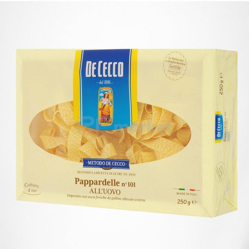 Макароны №101 Паппарделле яичные Де Чекко/De Cecco, Италия