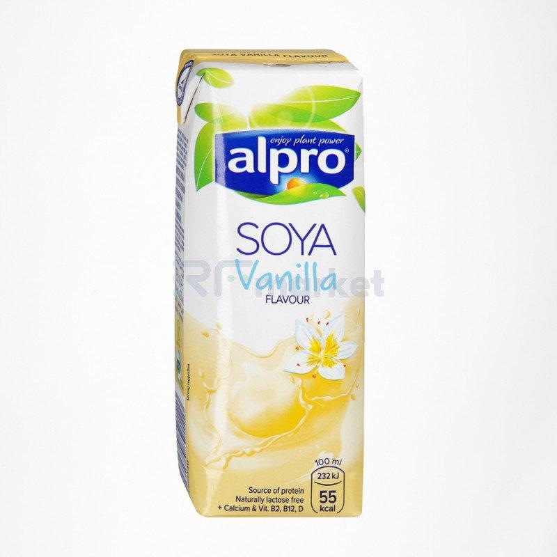 Напиток соевый напиток со вкусом Ванили обогащенный кальцием и витаминами 1 л., Алпро/ALPRO