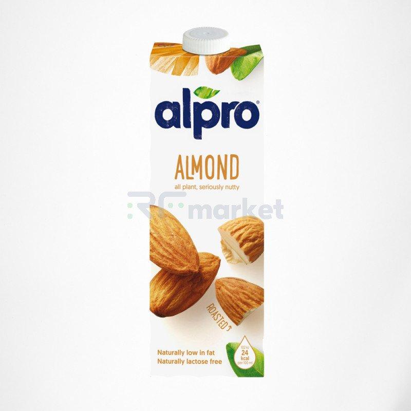 Напиток миндальный обогащенный кальцием и витаминами 1 л., Алпро/ALPRO