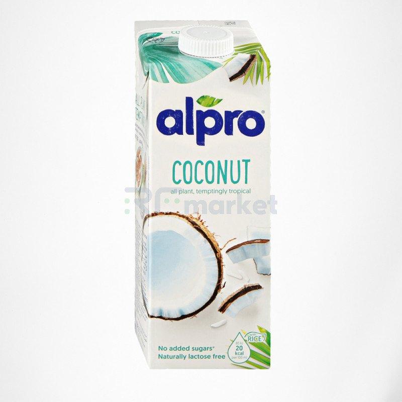 Напиток кокосовый с рисом обогащенный кальцием и витаминами 1 л., Алпро/ALPRO