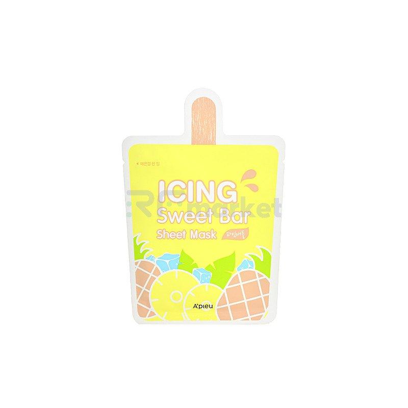 A'Pieu Маска тканевая с экстрактом ананаса - Icing sweet bar sheet mask pineapple, 21г