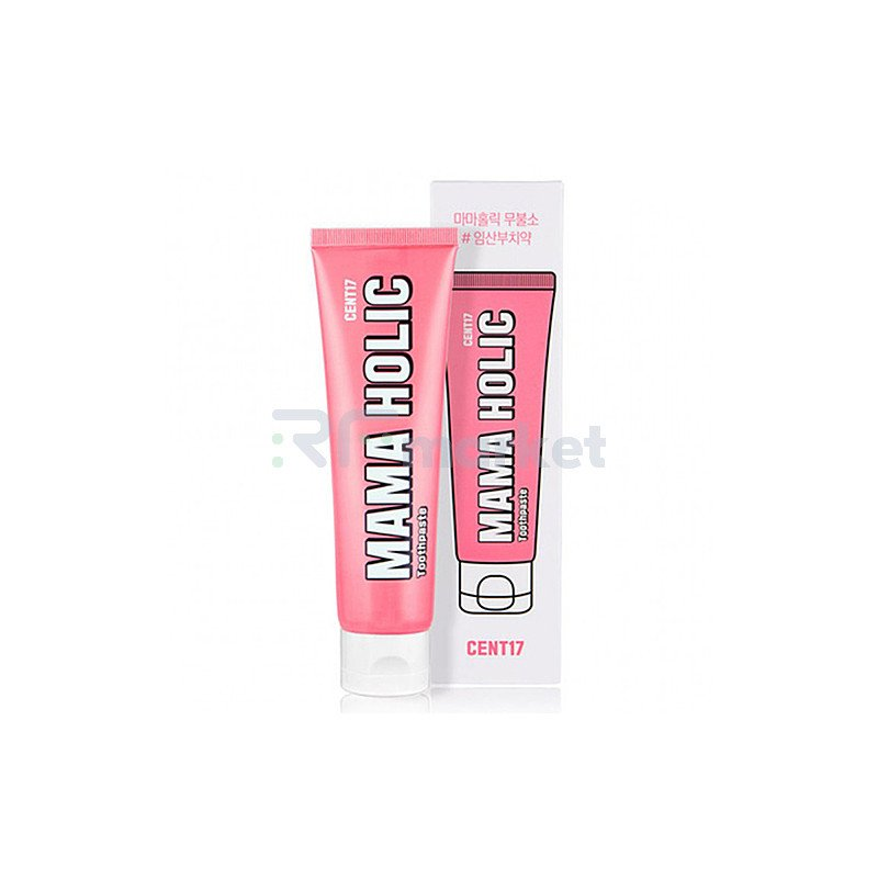 Cent 17 Зубная паста натуральная - Mama holic toothpaste, 120г