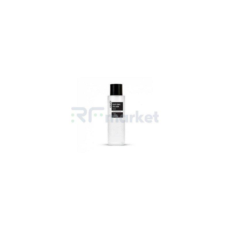 Coxir Тонер против морщин с коллагеном и муцином черной улитки - Black snail collagen toner, 150мл