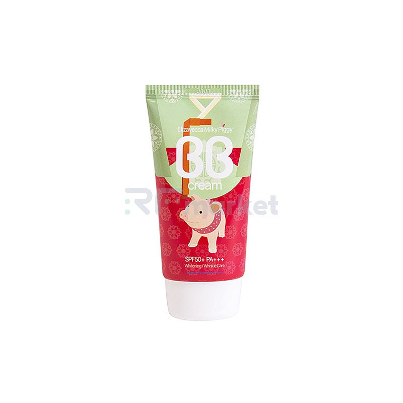 Elizavecca ББ-крем увлажняющий с гиалуроновой кислотой - Milky piggy BB cream SPF50, 50мл
