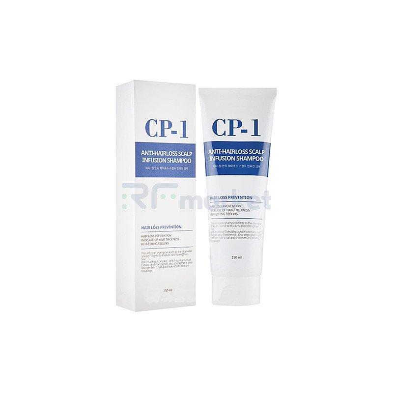 Esthetic House Шампунь против выпадения волос - CP-1 Anti-hair loss scalp infusion shampoo, 250мл