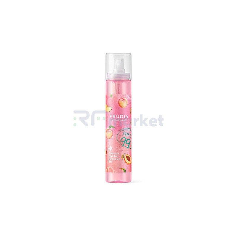 Frudia Гель-мист для лица с персиком - My orchard real soothing gel mist, 125мл