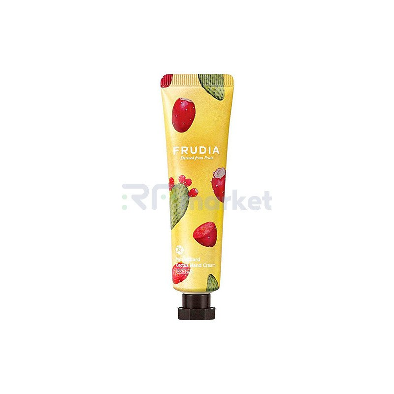 Frudia Крем для рук c кактусом - Squeeze therapy cactus hand cream, 30г