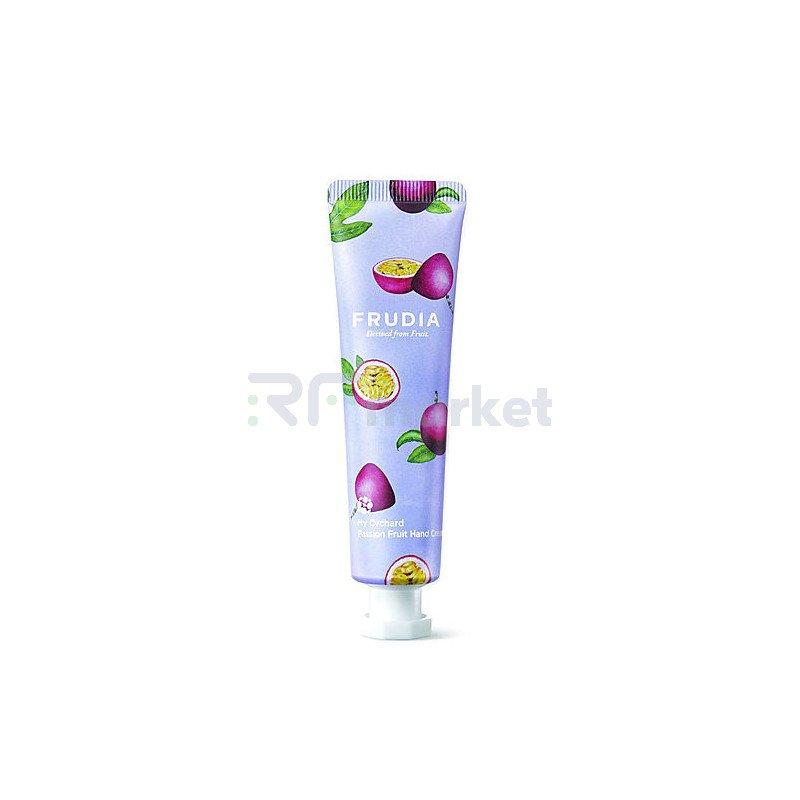 Frudia Крем для рук c маракуйей - Squeeze therapy passion fruit hand cream, 30г