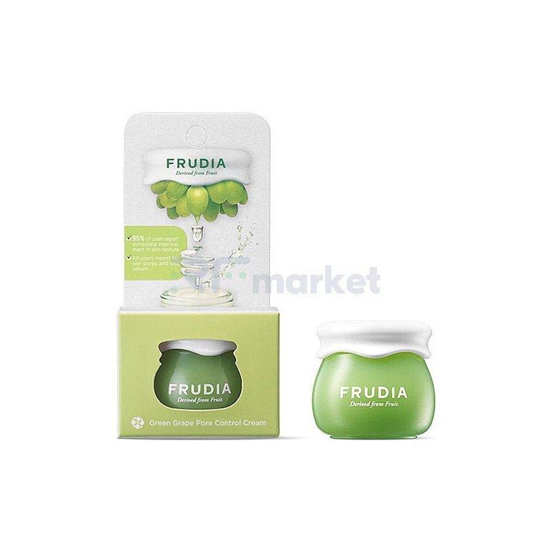 Frudia Крем себорегулирующий с виноградом - Green grape pore control cream, 10г