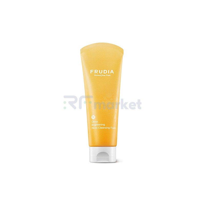 Frudia Микропенка для умывания с цитрусом - Citrus brightening micro cleansing foam, 145г