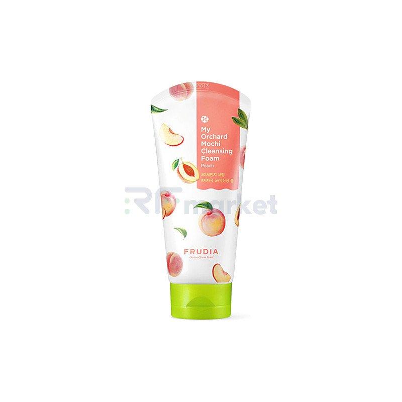 Frudia Пенка-моти очищающая с персиком - My orchard mochi cleansing foam, 120мл