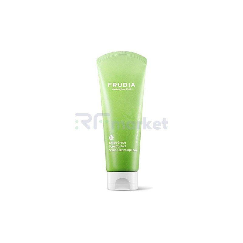 Frudia Скраб-пенка для умывания с виноградом - Green grape pore control  scrub cleansing foam, 145мл