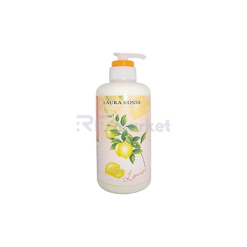 Laura Rosse Лосьон-молочко для тела ароматерапия лимон - Body lotion lemon, 500мл