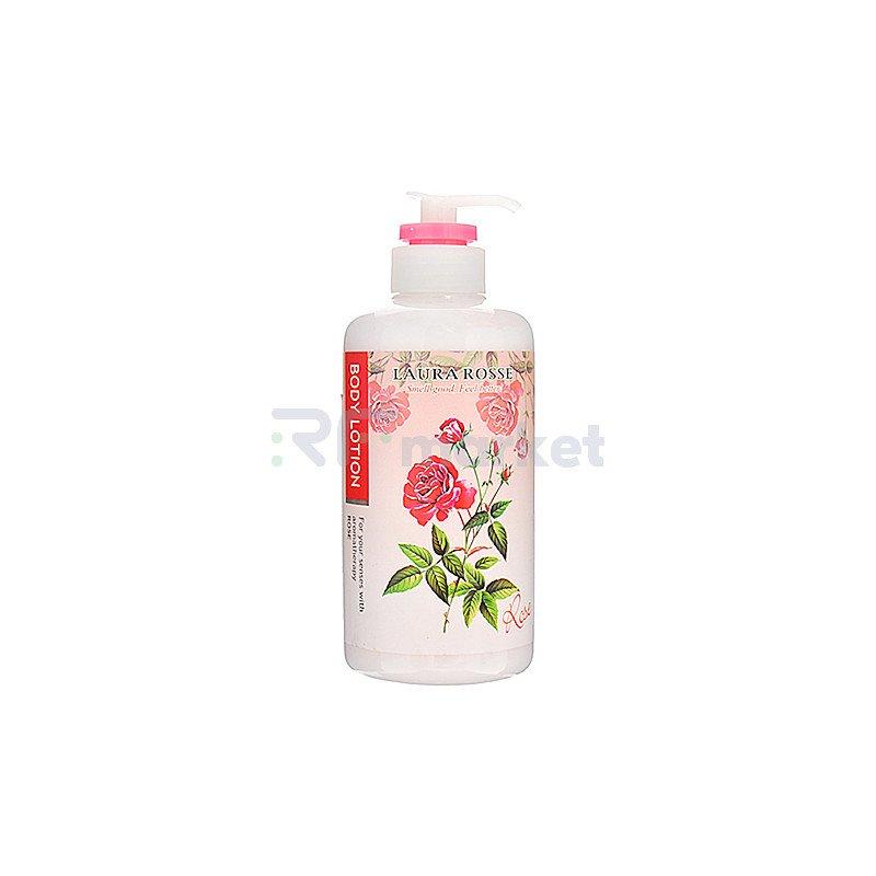 Laura Rosse Лосьон-молочко для тела ароматерапия роза - Body lotion rose, 500 мл