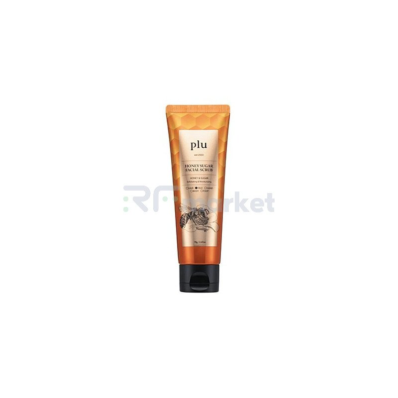 PLU Скраб для лица с медом сахарный – Honey sugar facial serub, 70г