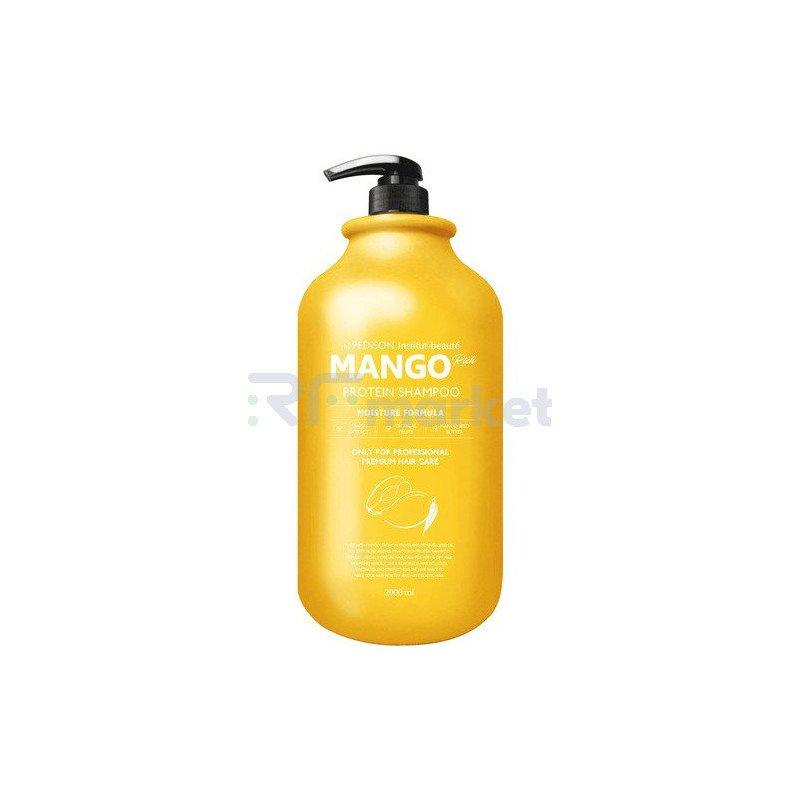 Pedison Шампунь с экстрактом манго - Institut-beaute mango rich protein hair shamp, 2000мл