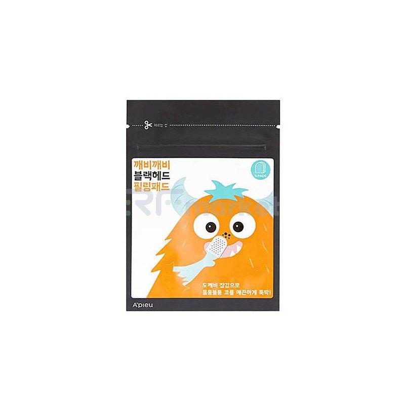 A'Pieu Пилинг-диски от черных точек - Goblin blackhead peeling pad, 5шт