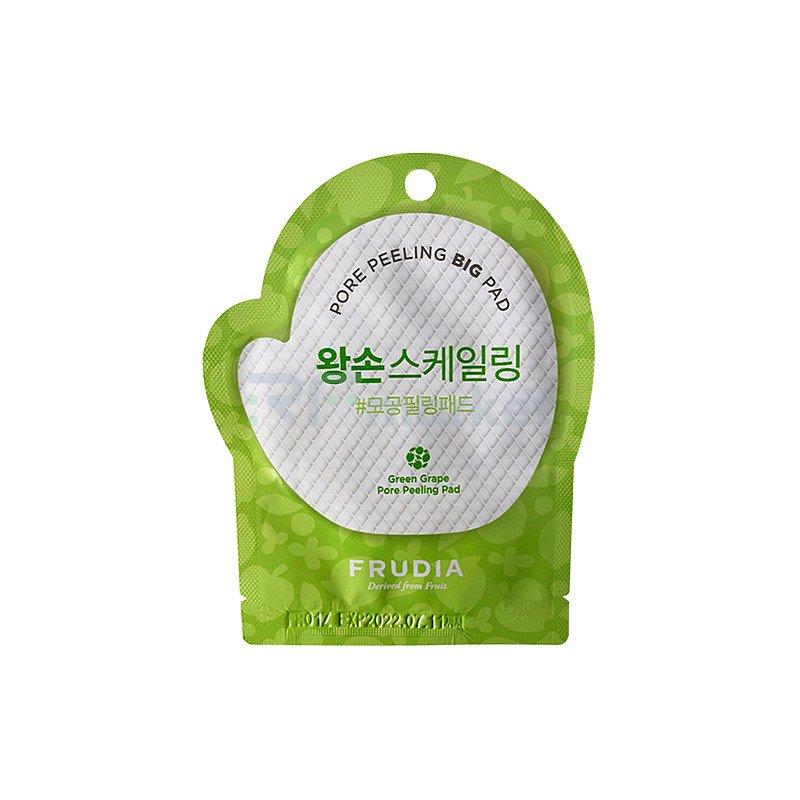 Frudia Диски отшелушивающие с зеленым виноградом - Green grape pore peeling pad, 50шт