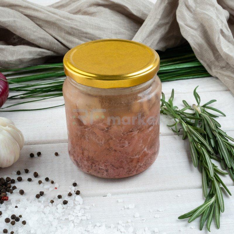 Тушенка из индейки, фермерская, 450 гр