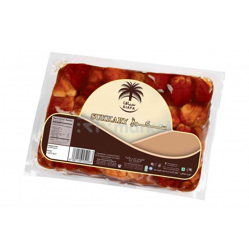 Суккари в вакуумной упаковке Siafa, 1 кг