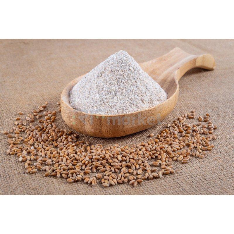 Мука пшеничная цельнозерновая Крестьянская 100%, 25 кг