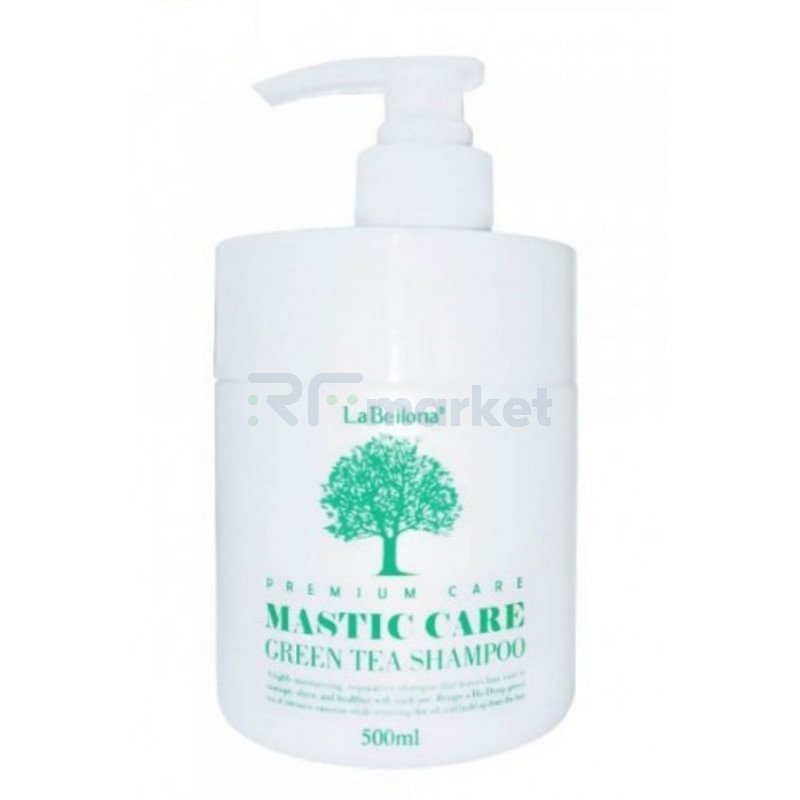 Шампунь для волос. Mastic Greentea Shampoo 500 мл.«Gain Cosmetics Co., Ltd»