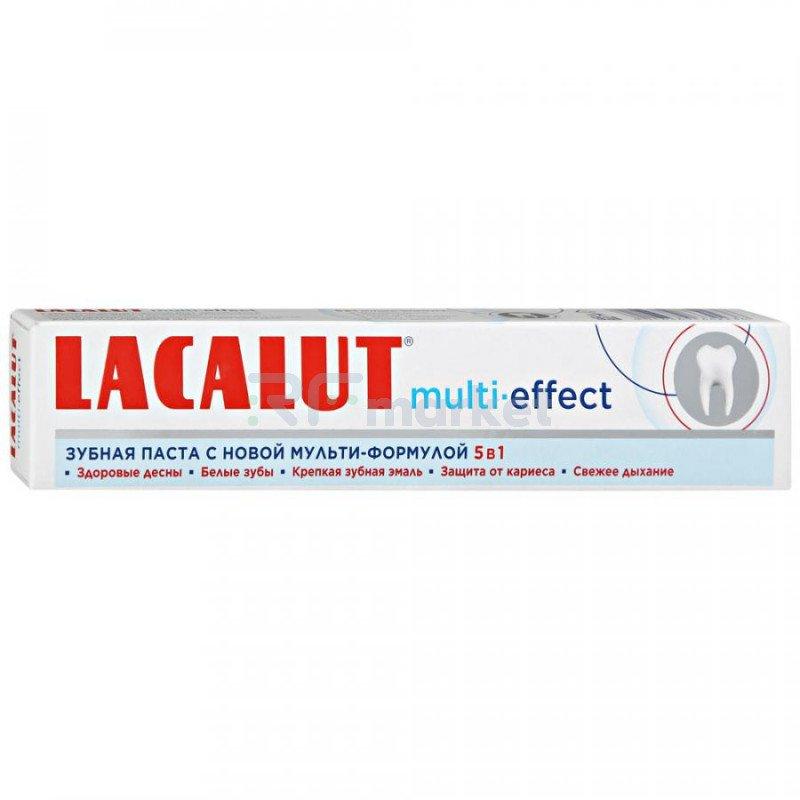 Зубная паста Lacalut Multi-Еffect укрепление эмали 75 мл