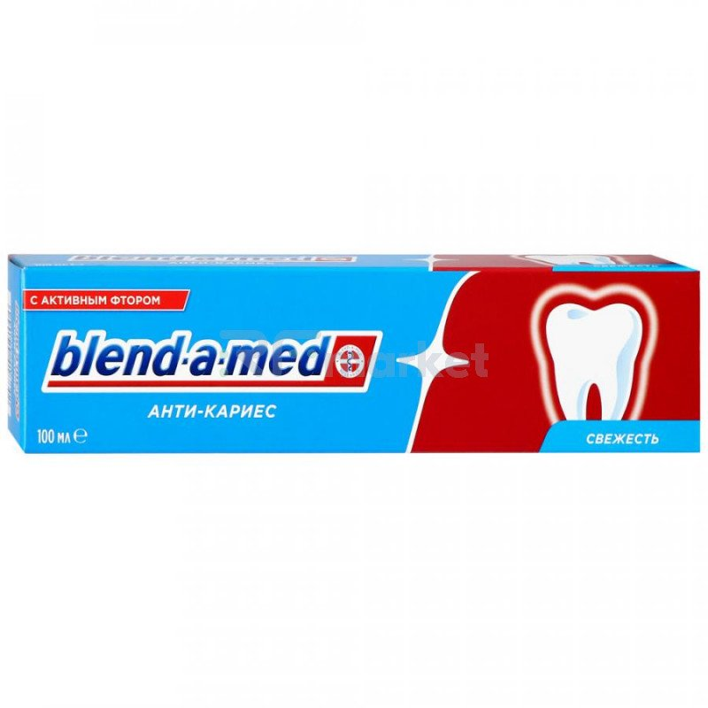 Зубная паста Blend-a-med Анти-Кариес с активным фтором 100 мл