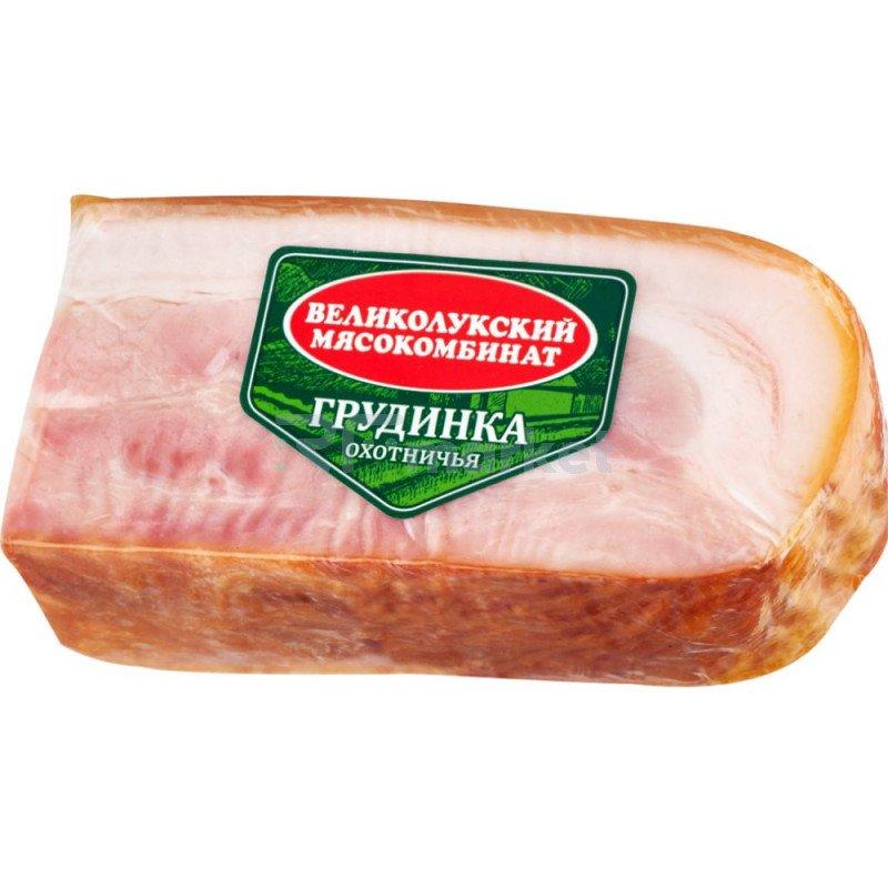 Грудинка варено-копченая «Великолукский мясокомбинат» Охотничья, 300 г