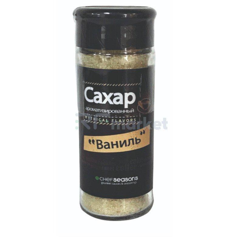 "Сахар Chef Seasons ароматизированный ""Ваниль"", 90гр"