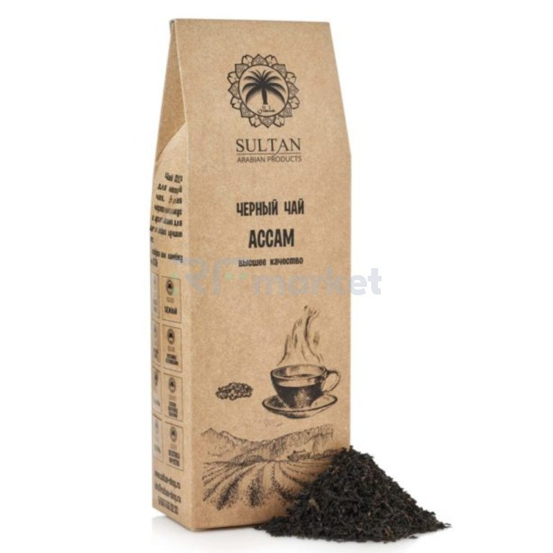 "Чай ""Ассам"", высший сорт, 100 г"