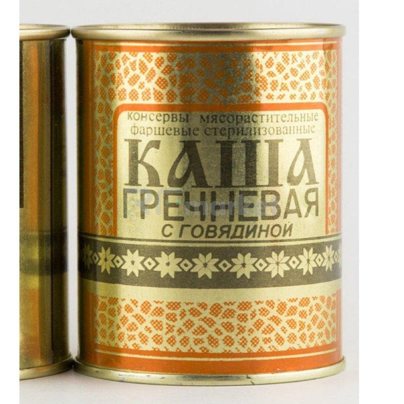 Каша гречневая с говядиной, 340гр , Беларусь