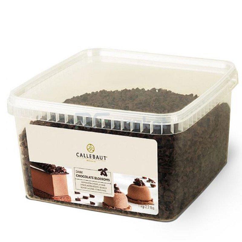 """Шоколад завитки темный """"Callebaut"""" (Бельгия), 1000гр."""