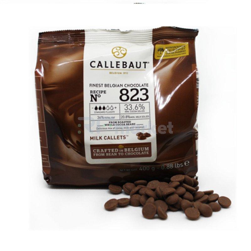 "Шоколад Молочный 33,6% ""Callebaut"" (Бельгия), 400 гр."