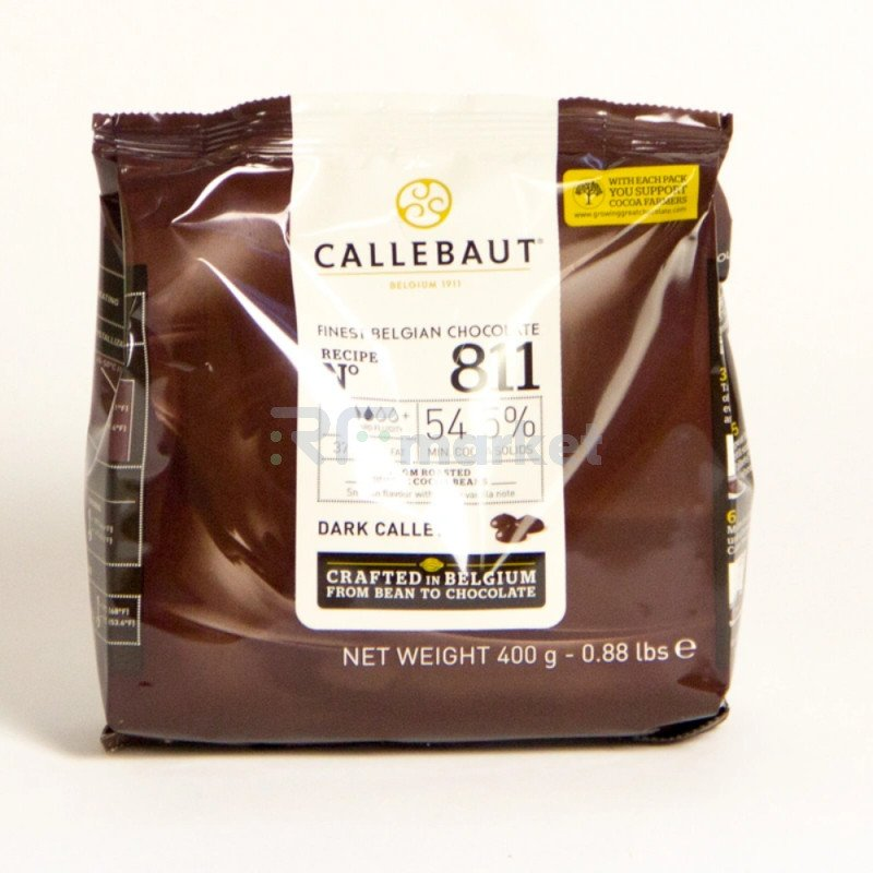 "Шоколад темный  54,5% ""Callebaut"" (Бельгия) , 400 гр"